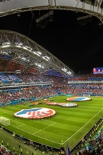 Football stadium, World Cup 2018