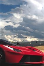 Forza Horizon 3, Ferrari, LaFerrari, supercarro vermelho