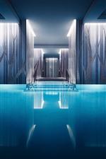 Interior, pool