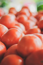Preview iPhone wallpaper Many tomatoes, vegetable