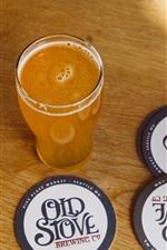 iPhone fondos de pantalla Una taza de jugo de naranja