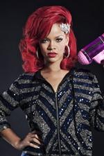 Preview iPhone wallpaper Rihanna 16