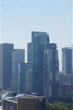 iPhone fondos de pantalla Shenzhen, rascacielos, paisaje urbano, edificios, ciudad, China