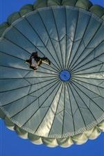 iPhone fondos de pantalla Cielo paracaídas