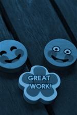 Smile badges