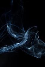 Fumaça, escuridão