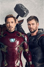 Superheroes, Falcon, Iron Man, Thor