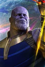 Preview iPhone wallpaper Thanos, Avengers: Infinity War