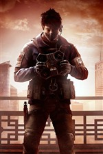 Preview iPhone wallpaper Ubisoft game, Rainbow Six Siege: Operation Red Crow