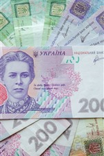 Preview iPhone wallpaper Ukraine paper currency, money