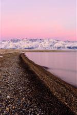 Xinjiang Sailimu Lake