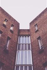 Preview iPhone wallpaper Buildings, bricks, window
