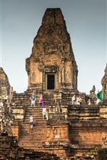 Cambodia, Angkor, ruins