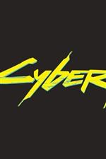 iPhone fondos de pantalla Logotipo de Cyberpunk 2077