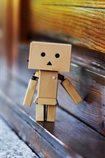 Preview iPhone wallpaper Danboard, cartoon star