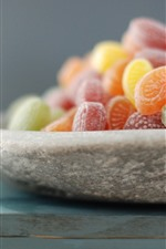 Preview iPhone wallpaper Delicious candy, colors