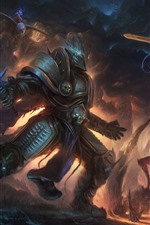 Preview iPhone wallpaper Diablo, Warcraft, art picture