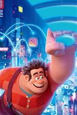 Preview iPhone wallpaper Disney movie, Ralph Breaks the Internet