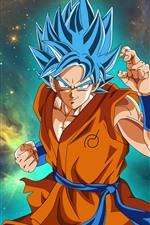 Preview iPhone wallpaper Dragon Ball Super, goku, anime