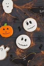 Dia das bruxas, cookies, comida