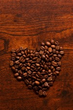 I love coffee, many coffee beans