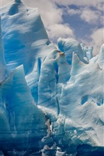 Preview iPhone wallpaper Iceberg, sea, ice