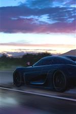 Velocidade de supercarro de Koenigsegg, Forza Horizon 3