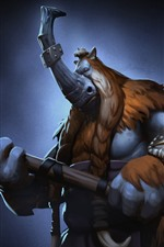 Preview iPhone wallpaper Magnus, Dota 2