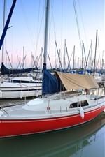 Pier, boats, water