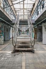 Preview iPhone wallpaper Prison, ladders, doors