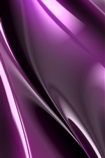 Purple fractal graphics, abstract