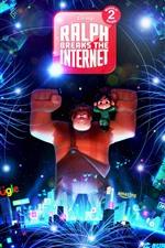 Vorschau des iPhone Hintergrundbilder Ralph bricht das Internet, Zeichentrickfilm 2018