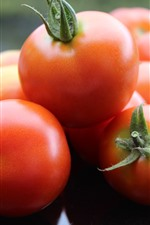 Preview iPhone wallpaper Some tomatoes, fresh vegetable