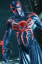 Preview iPhone wallpaper Spider-Man: Edge of Time, video game