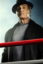 Preview iPhone wallpaper Sylvester Stallone, Creed 2