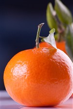Preview iPhone wallpaper Tangerines, fruit, still life