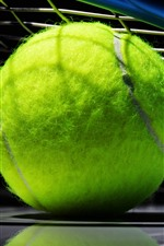 Preview iPhone wallpaper Tennis ball, green