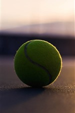Preview iPhone wallpaper Tennis ball, sunshine, shadow
