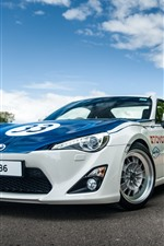 Preview iPhone wallpaper Toyota GT86 sport car front view