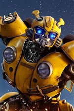 Preview iPhone wallpaper Transformers, Bumblebee, robot