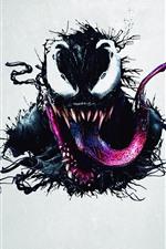 Vorschau des iPhone Hintergrundbilder Venom, Superheld