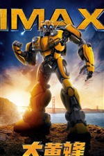 Preview iPhone wallpaper 2018 movie, Bumblebee