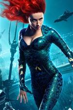 iPhone fondos de pantalla Amber Heard, Mera, Aquaman 2018