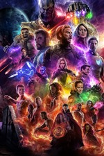 Preview iPhone wallpaper Avengers: Endgame 2019