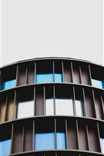 Preview iPhone wallpaper Buildings, windows, sky