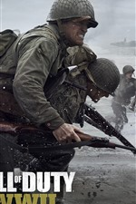 Preview iPhone wallpaper Call of Duty: WWII
