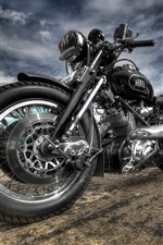 Preview iPhone wallpaper Cool motorcycle