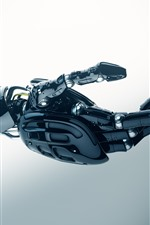 Preview iPhone wallpaper Cyborg arm