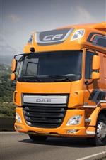Preview iPhone wallpaper DAF CF 320 truck