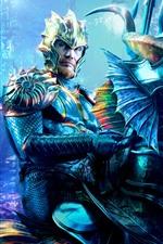 Dolph Lundgren, rei Nereus, Aquaman 2018